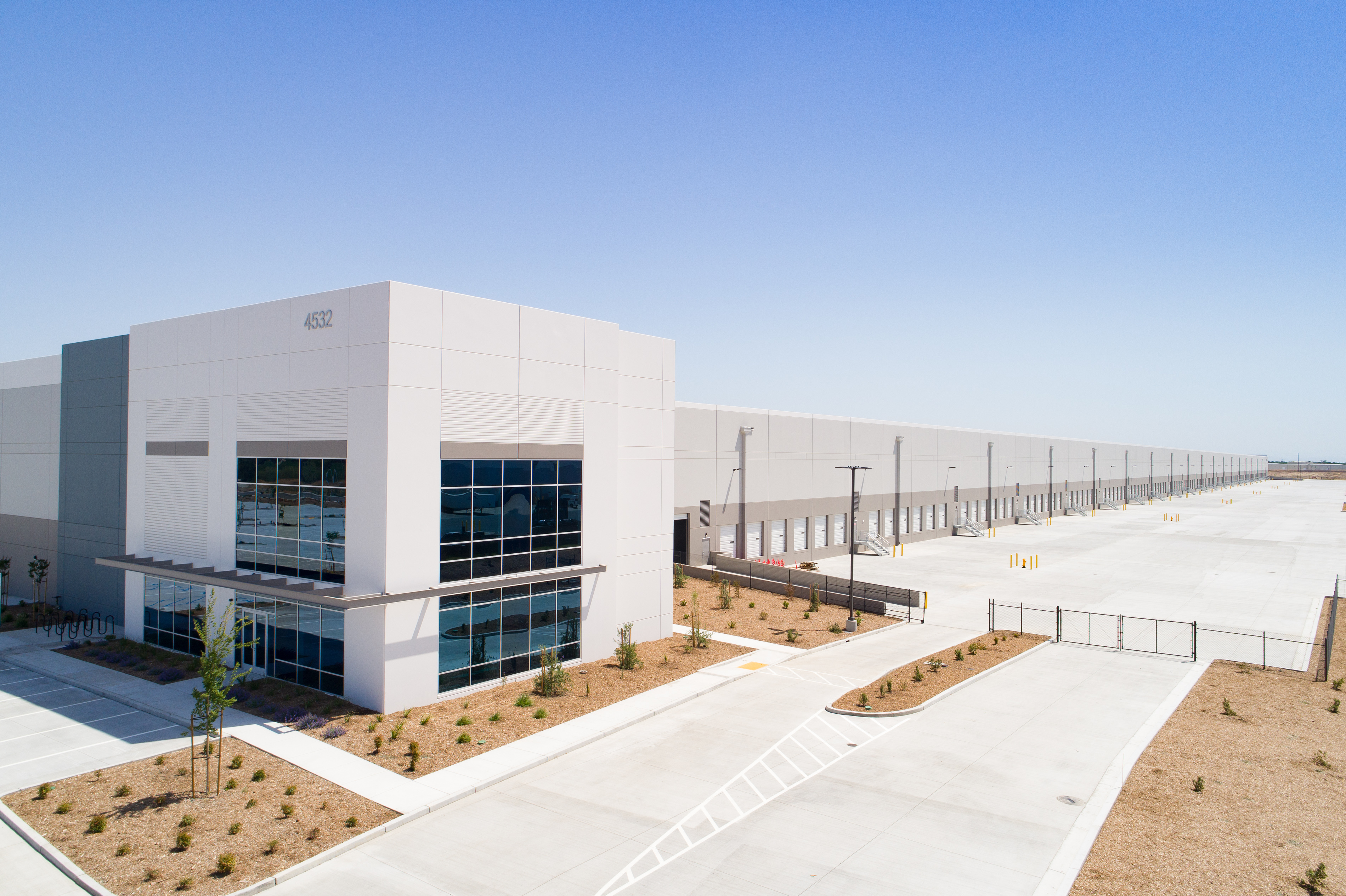 NorCal Logistics Center – Development is under way at the